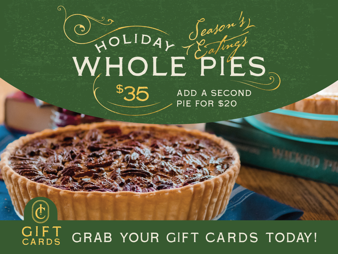 Ida Claire Holiday Pies